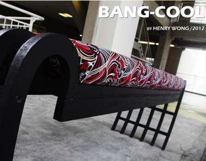 Furniture Design // Bang-Cool (Bench)
