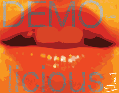 DEMO-licious CD cover
