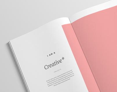 Graphic Design Portfolio — Minimal/Simple