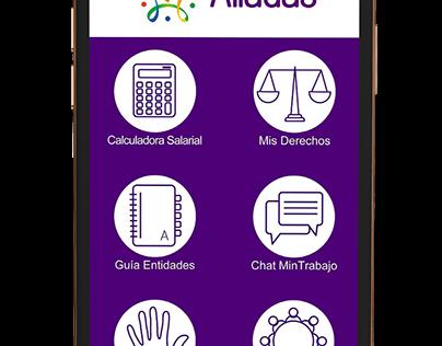 Aliadas App - Colombia