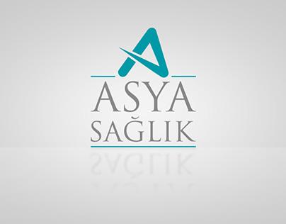 Asya Sağlık logo tasarımı