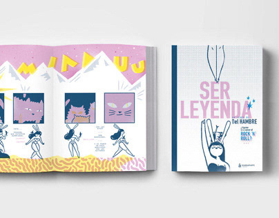 SER LEYENDA / Comic book