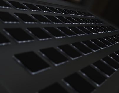 Abstract Art - Keyboard Backlight