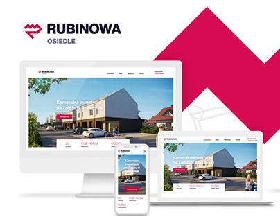 Osiedle Rubinowa / ID, Website, 3D Floor Plans, DTP