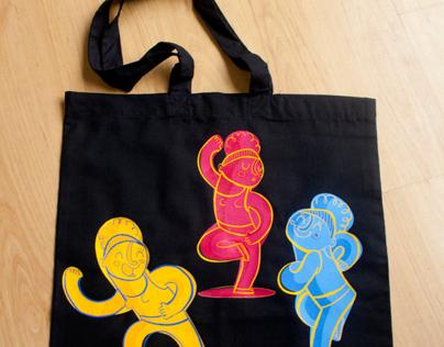 Dance! tote bag