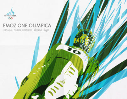 Torino 2006 | Posters of the 15 olympic diciplies