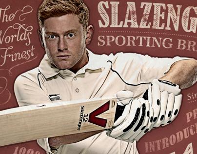 Slazenger Cricket 2013 Retro
