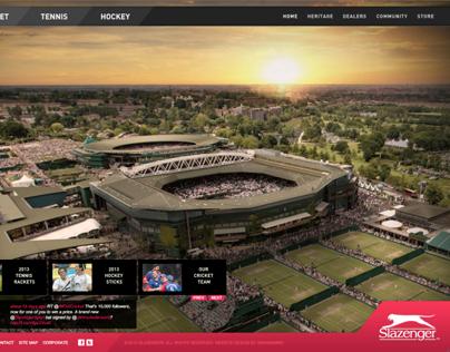 Slazenger Global Website