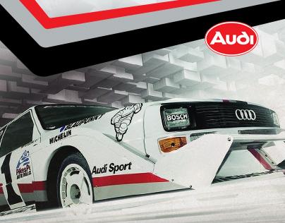 Audi S1 quattro Rallye Legend