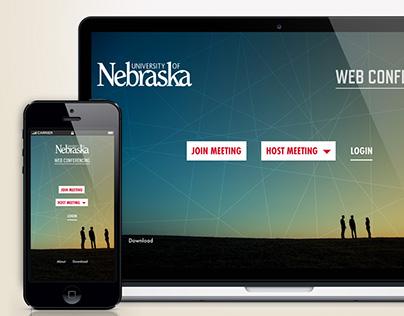 Web Conferencing Landing Page