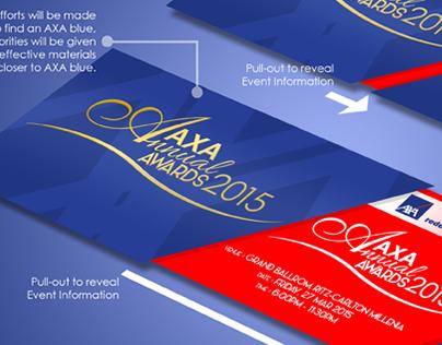 AXA Annual Awards Invite