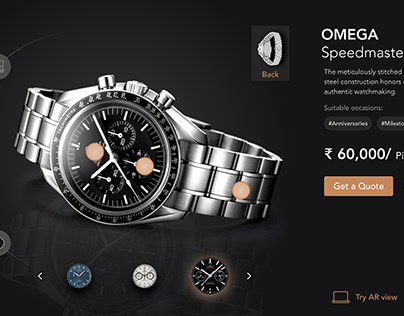 Web Product Page