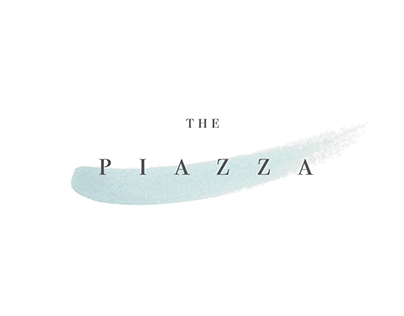 Branding // The Piazza