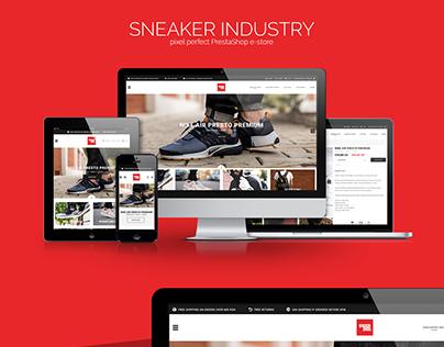 SNEAKER INDUSTRY - PrestaShop e-store
