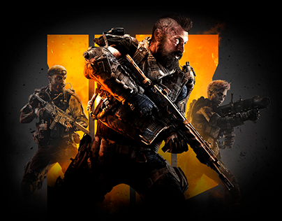 Call of Duty Black Ops 4 Website Concept