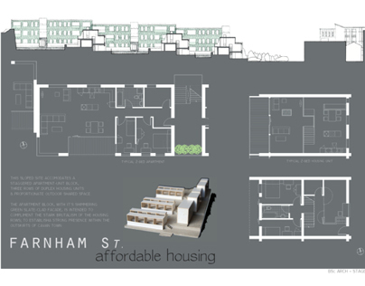 Farnham Street Housing - BSc Stage 2