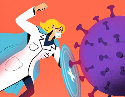 The fight of Coronavirus - WILL