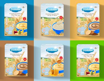 Dodolac - packaging design