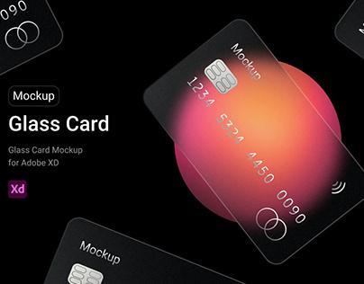 Glass Card Mockup