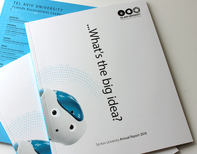 TLV 2018 Annual Report | Art direction, graphic design