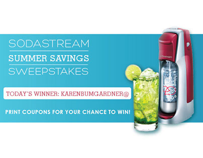 Email & Social Promo - Sodastream Giveaway