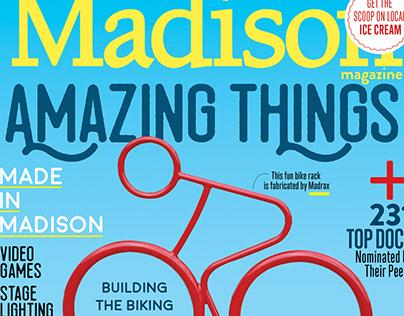 New Covers - Madison Magazine, Madison, WI