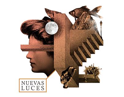 """Propuesta para la portada del CD """"Nuevas Luces"""" de RNM."""