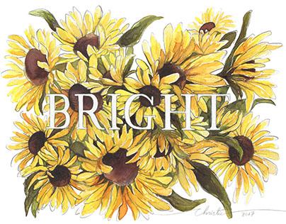 Floral descriptive words