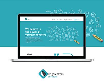 EdgeMakers Institute - Web design