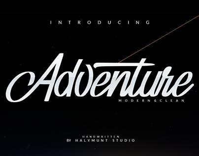 Free Download. Adventure Font