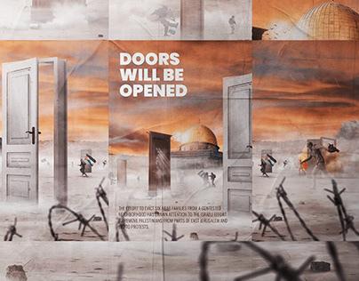 Palestine - Doors will be opened