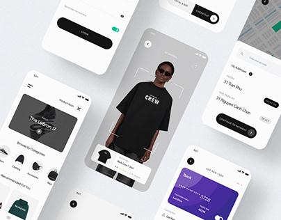 DOPE Store - Mobile App Design Concept