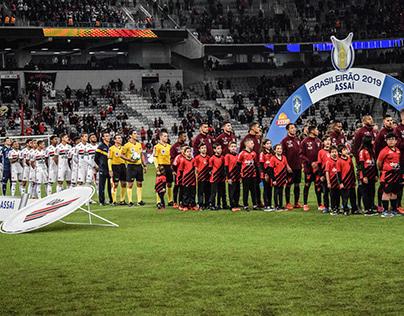 Athletico Paranaense x São Paulo