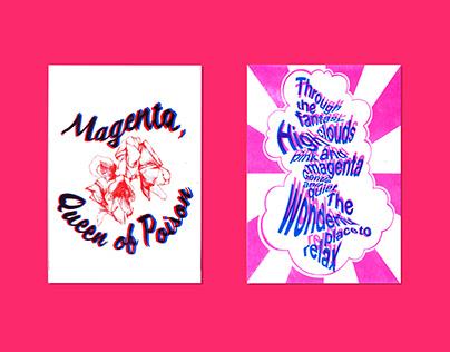 Risograph - Magenta