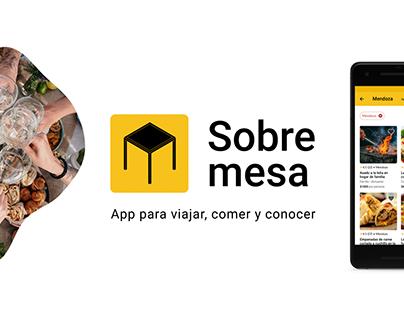 Sobremesa - App para viajar, comer y conocer
