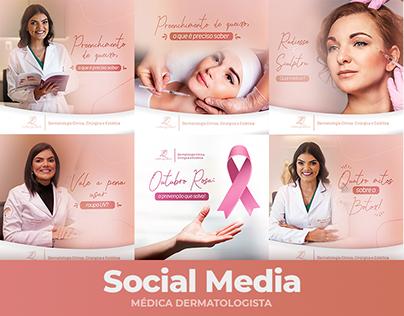 Social Media - Dermatologista