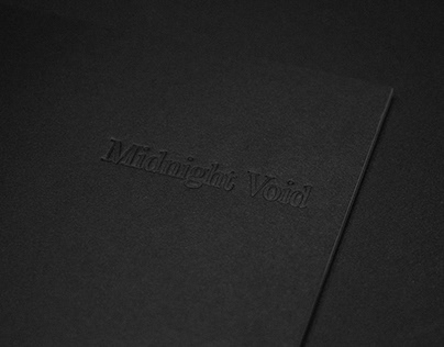 Midnight Void / Photography Book