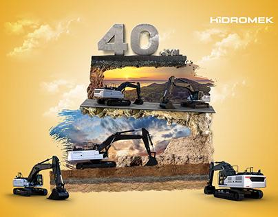 Hidromek'in 40.Yılı | Hidromek 40th Year