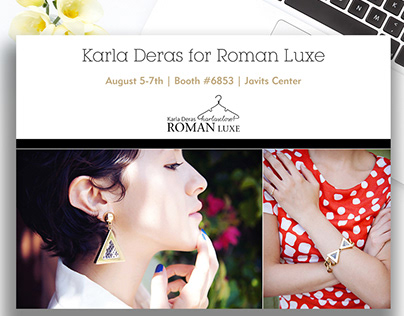 Karla Deras for Roman Luxe - E Marketing Campaign