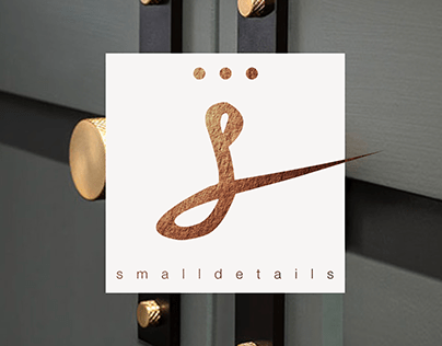 Small details - a luxury hardware shop branding