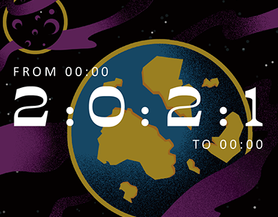 FROM 00:00 TO 00:00 - The 2021 Calendar