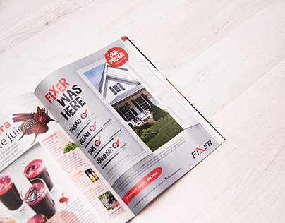 Advertising campaign in Magazine
