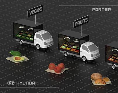 Hyundai Porter EV, The Lucky Porter