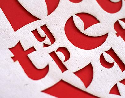 Buccu typeface