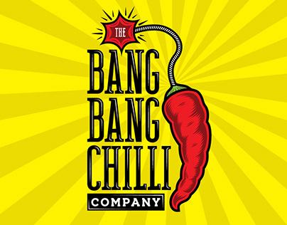 The Bang Bang Chilli Company Logo Design