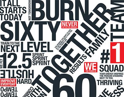Burn 60 | Door Vinyl