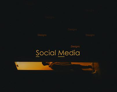 Food Social media designs