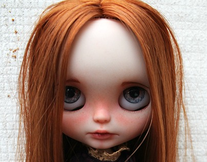 Caramelo - Factory Translucent skin RBL Blythe Custom