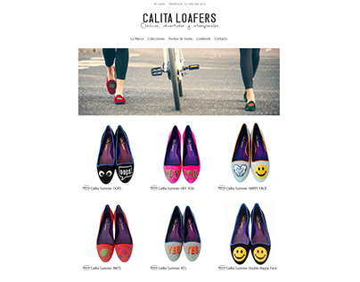 Web: Calita Loafers Shoes