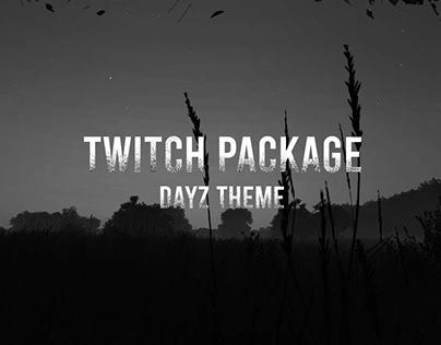 Twitch Package - DayZ Theme